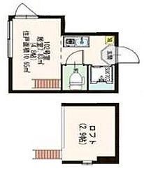 (仮称)向島4丁目コーポ[102号室]の間取り