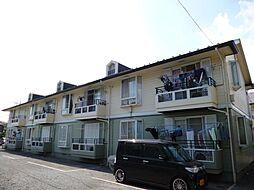 東京都立川市栄町3丁目の賃貸アパートの外観