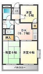 ファンタジア[2階]の間取り