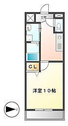 YOSHIX代官町[8階]の間取り