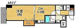 グラドネスT・H[2階]の間取り