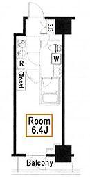 メインステージ亀戸II[2階]の間取り