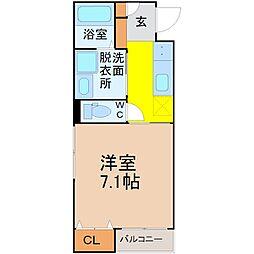 ヴィラアバーナ桜台(ヴィラアバーナサクラダイ)[2階]の間取り