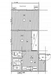 メゾンオーク[1階]の間取り