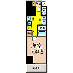 プラチナ名古屋ビル[6階]の間取り