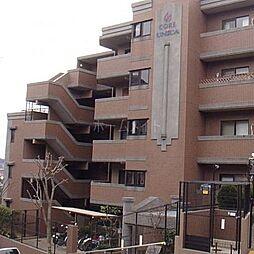 コアマンション植物園[4階]の外観