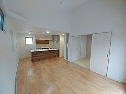 富士見台3丁目未入居戸建 D号棟 4LDKの居間