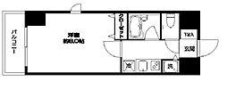 KWレジデンス東大井[0401号室]の間取り
