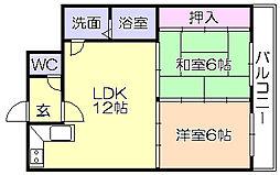 SKサンコ-諏訪野[303号室]の間取り