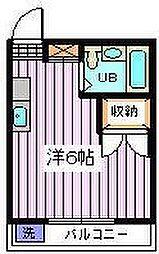 埼玉県さいたま市桜区田島8丁目の賃貸マンションの間取り