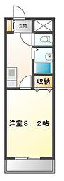 UMEX−7(ユメックス)[4階]の間取り