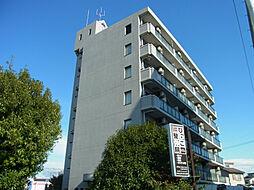 滋賀県草津市東矢倉4丁目の賃貸マンションの外観
