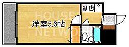 エスリード京都河原町第2[205号室号室]の間取り