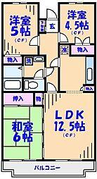 イングス宇田川[3階]の間取り