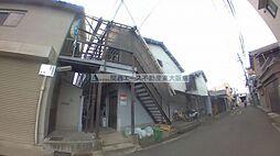 大阪府東大阪市御厨栄町2丁目の賃貸アパートの外観