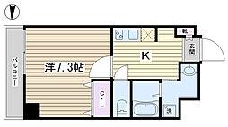 ヴィラ・フォレスト田端[203号室]の間取り