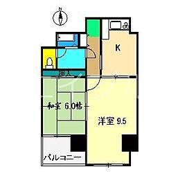 住友ハイツ(本町)[3階]の間取り