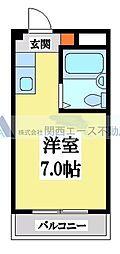 小阪CTハウス[2階]の間取り