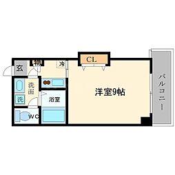 サンフィールド大阪城北[5階]の間取り