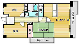 グリーンパークハイム[3階]の間取り