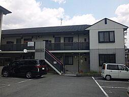 京都府京都市山科区西野大鳥井町の賃貸アパートの外観