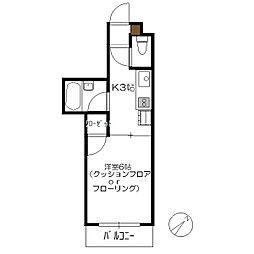 N4三宅[1階]の間取り