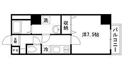 レジデンスM姫路[1003号室]の間取り