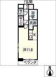 エルスタンザ名駅西[6階]の間取り