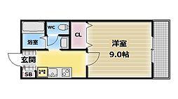 Frends24[1階]の間取り