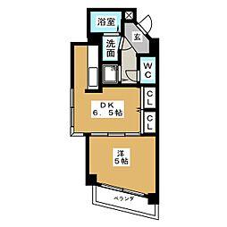 ポンドサイド蓮 パートI[3階]の間取り