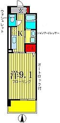 セントラルパークウッズ[9階]の間取り