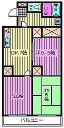 第8池田マンション[303号室]の間取り
