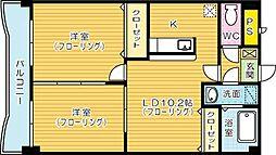 ウィークスM-one[303号室]の間取り
