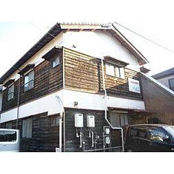 福岡県北九州市小倉北区竪林町の賃貸アパートの外観