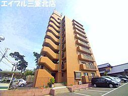 三重県四日市市富田浜町の賃貸マンションの外観