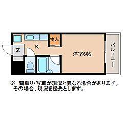 静岡県静岡市葵区相生町の賃貸マンションの間取り