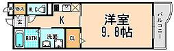 兵庫県宝塚市野上2丁目の賃貸マンションの間取り
