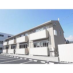 静岡県静岡市清水区半左衛門新田の賃貸アパートの外観