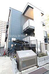 東京都葛飾区白鳥2丁目の賃貸マンションの外観