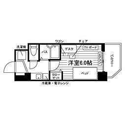 学生会館 Campus terrace Kindaimae[ 1階1Kの間取り