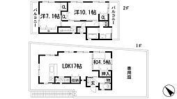 [一戸建] 兵庫県川西市東畦野山手2丁目 の賃貸【/】の間取り