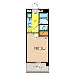 JC STATION 143[302号室]の間取り