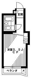 NHレジデンス中野[3階]の間取り