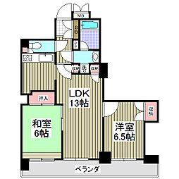 四つ木パーク・ホームズ[304号室]の間取り
