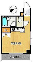 パークサイドスズキ[2階]の間取り