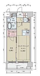 (仮称)ベラジオ京都一乗寺[2階]の間取り