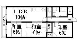 オーハウス30[0103号室]の間取り