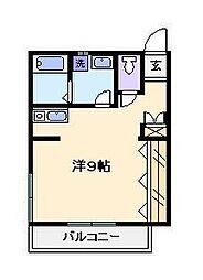 Mコーポ[2階]の間取り