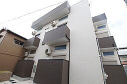 兵庫県尼崎市大物町2丁目の賃貸アパートの外観