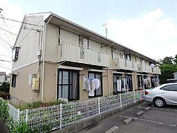 千葉県柏市増尾5丁目の賃貸アパートの外観